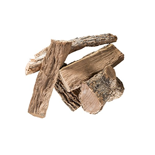 Oklahoma Joe's Mini Log Smoker Chip, 25 lb, Hickory - Hickory Wood