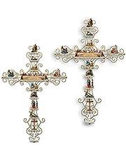 Het leven van Christus collectie Display Cross Sticker Muursticker Religieuze Bijbel Accessoires en christelijke geschenken