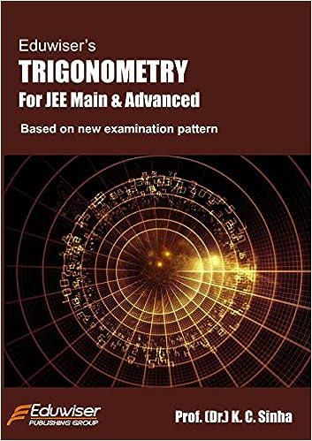 eduwiser trigonometry for jee main and advanced amazon in k c