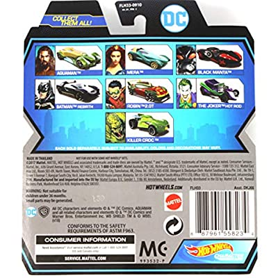 Hot Wheels Character Cars DC Aquaman First Appearance: Toys & Games