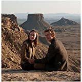 Jake Abel as Ian O'Shea Sitting Next to Saoirse Ronan as Melanie Stryder in The Host 8 x 10 Inch Photo