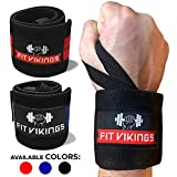 Wrist Wraps Weightlifting - 18' Professional Grade Wrist Brace for Working Out - Wrist Support Weight Lifting