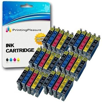 30 XL Compatibles T0611-T0614 (T0615) Cartuchos de Tinta para ...