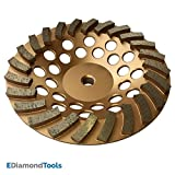 Grinding Wheels for Concrete and Masonry Available from 4 to 7 Inches - 7'' Diameter 24 Turbo Diamond Segments 5/8''-11 Arbor