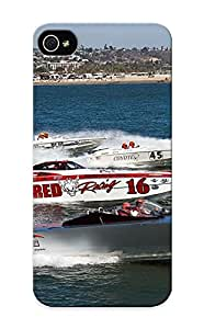 New Arrival Vehicles Watercrafts Ships Boats Bullet Racing Spray Drops Track Performance Lakes Water Ocean Sea Shore For Iphone 5/5s Case Cover Pattern For Gifts