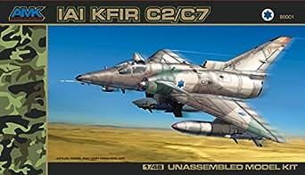 AvantGarde Model Kits 1/48 IAI KFIR C2/C7 Building Kit