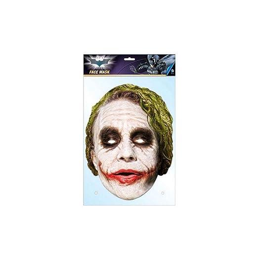 Halloween Joker Card.Amazon Com Dark Knight Joker Card Mask Clothing