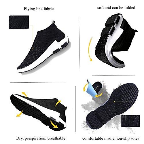 Sneakers Moda Donna Panda Kelly Leggere Scarpe Da Corsa Sportive Traspiranti Scarpe Da Passeggio Casual Nere