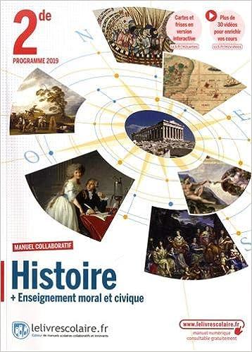 Amazon Fr Histoire Emc 2de Manuel Eleve Collectif