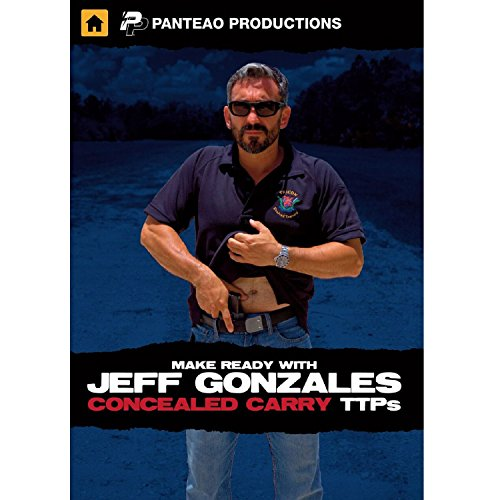 Panteao Productions: Make Ready with Jeff Gonzales Concealed Carry - PMR066 - DVD -  Tactical Training - CCW - Personal Defense - Handgun Training