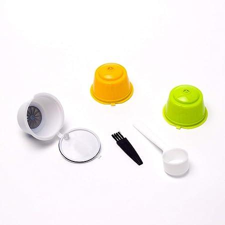 Chanhan - Paquete de 3 cápsulas de café Reutilizables con ...