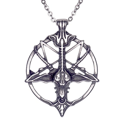 devil pentagram necklace - 8