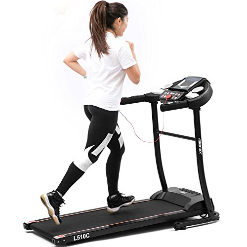 Merax Treadmill Folding Electric Treadmill Portable Power Motorized Machine Running Jogging Gym Health&Fitnes