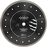 Lackmond Beast Pro 4.5'' Wet/Dry Porcelain Turbo Mesh Saw Blade - 4-1/2'' Tile Cutting Tool with Quick Cooling Mesh Rim & 7/8'' - 20mm - 5/8'' Arbor - BPM4.5