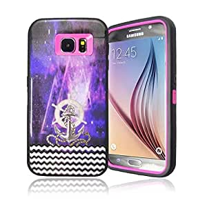 Galaxy S6 Case,S6 Case,Samsung S6 Case,S6 Cases,Samsung Galaxy S6 Case,Case for Galaxy S6,Galaxy S6 Hard Case,Galaxy S6 Case Cover,Creativecase beautiful printed High Impact Resistant Full Body Hybrid Design Armor Protection Defender Galaxy S6 Case Cover for Samsung Galaxy S6#19N