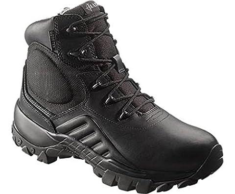 Bates Men's Delta Gore-Tex 6 Inch ICS Waterproof Boot, Black, 9 M US - Gore Tex Slip
