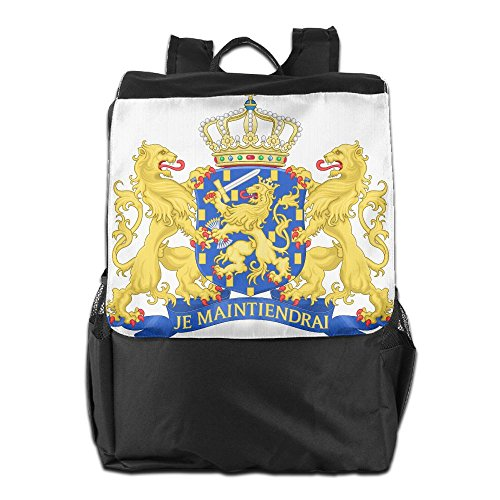 Coat Of Arms Netherlands Unisex Casual Hiking Bag Netherland Coat Of Arms