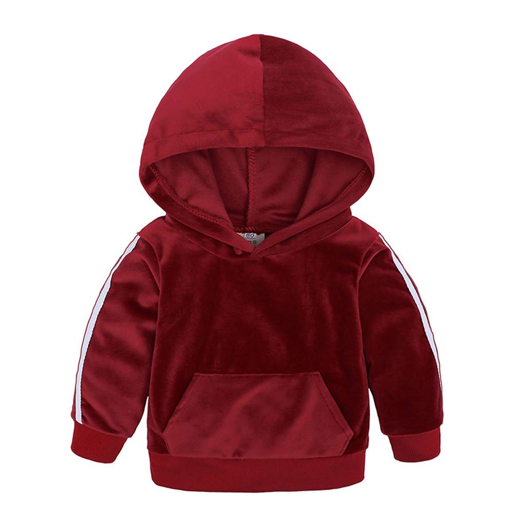 Baby Winter Outerwear Suit for Kids TM H.eternal 1-8 Years Complete Set of Long Pants for Kids in Hooded Warm Fleece for Little Girl Winter Warm Down Jacket for Boy with Hood