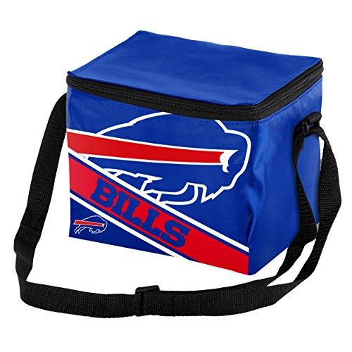 Buffalo Bills Big Logo Stripe 6 Pack Cooler