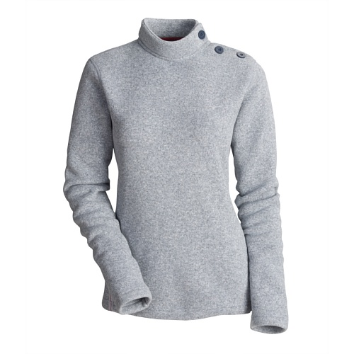 Atlantis Weather Gear Women's Brimbles Sweater (Glacier Grey, Small)