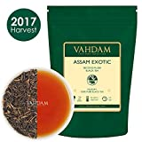 Exotic Assam Tea Leaves with Imperial Golden Tips, Harvest, Black Tea - Malty, Rich & Flavoury (50 Cups), Loose Leaf Tea , Perfect English Breakfast Tea, 100% Certified Pure Assam Tea,3.53oz