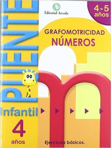 Book's Cover of Puente Infantil 4-5 años Números (Español) Tapa blanda – 1 abril 2020