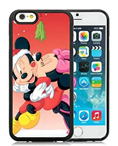 Hot Sale iPhone 6S Case,Mickey Mouse Christmas 7 Black iPone 6/6S 4.7 inches Screen TPU Cover Case Fashion and Popular Design