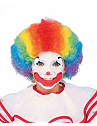 Peter Alan Inc 27077 Child s Rainbow Clown Wig