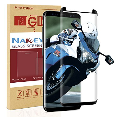 Galaxy S9 Plus Screen Protector, Nakeey [Full Screen Coverage] HD Screen Protector Film for Samsung Galaxy S9 Plus