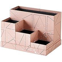 IKEA Tjena Desk Organizer Pink Black 303.982.25 Size 7x6 ¾