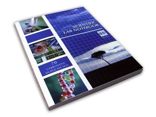 Scientific Lab Notebook: 70 Carbonless Duplicate Sets 2nd (second) Edition by Hayde...