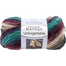 RED HEART E793-3952 Boutique Unforgettable Yarn, Teaberry