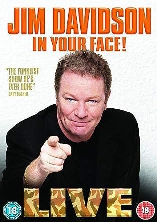 Jim Davidson-in Your Face [Reino Unido] [DVD]