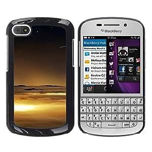 TopCaseStore / la caja del caucho duro de la cubierta de protección de la piel - Nature Beautiful Forrest Green 70 - BlackBerry Q10