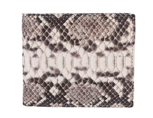 bifold WALLET genuine leather python snake fashion style TOP QUALITY no patchwork