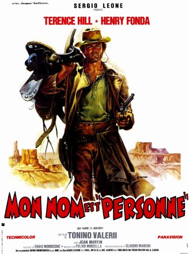 My Big shot is Nobody Poster Movie Foreign B 11x17 Henry Fonda Terence Hill R.G. Armstrong