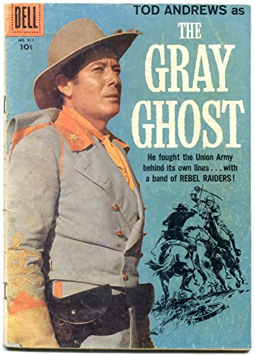 the-gray-ghost-four-color-comics-911-1958-tod-andrews-vg
