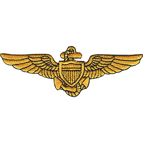 Naval Aviator Pilot Wings Patch -