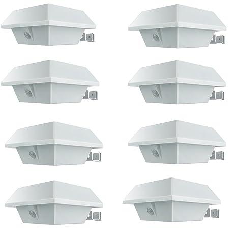 [8Packs] UniqueFire Luz de solar LED/foco LED con Sensor de Movimiento de