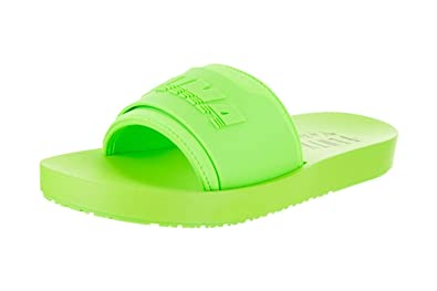 d366ea951 Puma Women's Fenty x Surf Slides, Green Gecko/Green Gecko, 5.5 M US ...