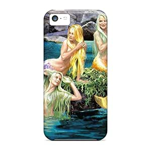 Hot Tpu Cover Case For Iphone/ 5c Case Cover Skin - Sirens