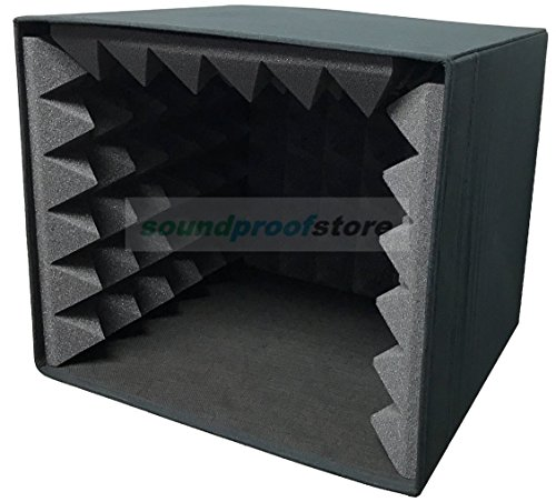 Portable Microphone Studio Voice Booth Isolation Box (Isolation Box)