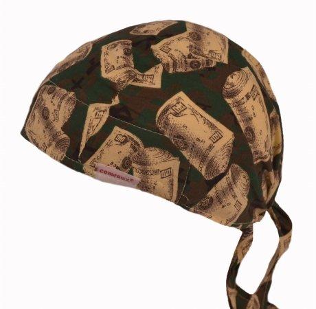 Comeaux Caps 118-7000SB Doo Rag With Sweatband