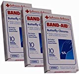 Band-Aid Butterfly Closures, Medium - 10 Closures