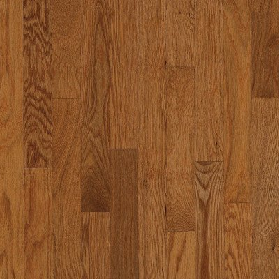 "Natural Choice 2.25"" Solid Oak Flooring in Gunstock"