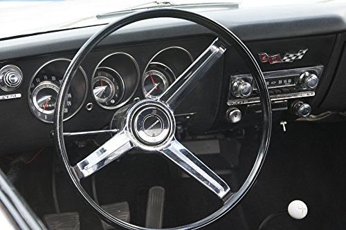 Home Comforts LAMINATED POSTER Sports Car Classic Car Dashboard Chevrolet Corvair (Corvair Dash)