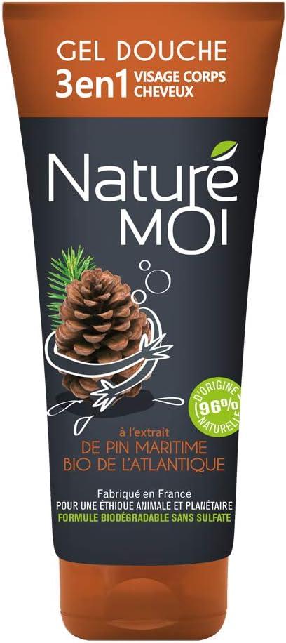 Naturé Moi – Gel de ducha 3 en 1 cara, cuerpo y cabello, con ...