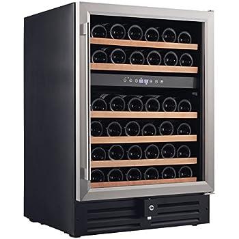 Amazon Com Smith Amp Hanks Rw145dr 46 Bottle Dual Zone