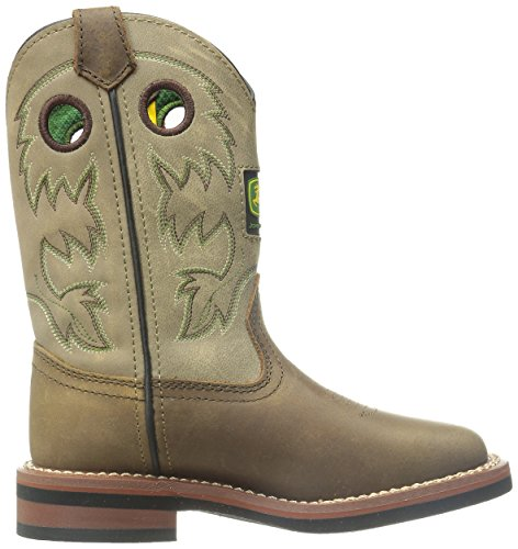 John Deere JD2311Johnny Popper Bronco Leder Stiefel, hellbraun, braun - hautfarben - Größe: 31 EU