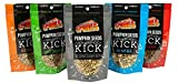 Spunks Spicy Pumpkin Seeds Healthy Keto Snack Variety 5 Pack 5 Ounces Each